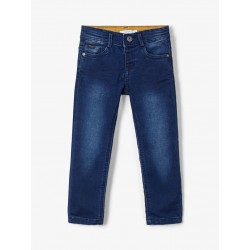 name it slim fit dark blue denim
